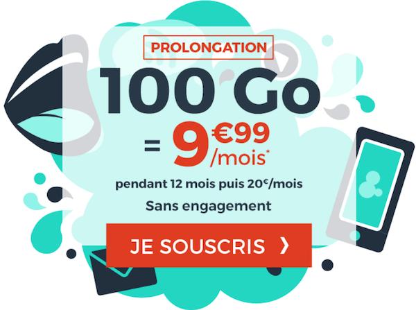 Le forfait 100 Go à moins de 10€ de Cdiscount Mobile