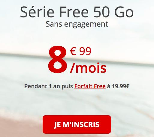 la série Free à 8,99€
