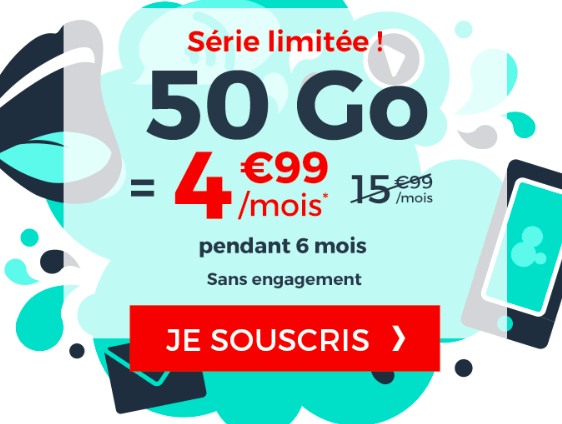 Le forfait mobile Cdiscount Mobile