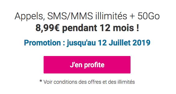 Promo Coriolis Telecom forfait riche en data.