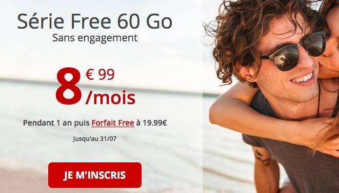 Série Free 60 Go encore disponible.