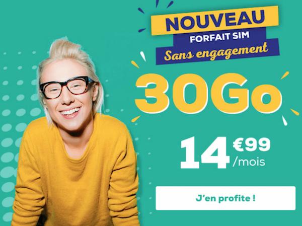 Le nouveau forfait à 15€ proposé par La Pote Mobile