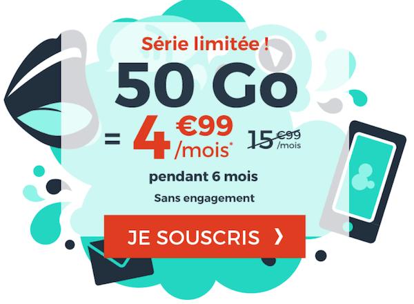 La nouvelle promotion Cdiscount Mobile pour un forfait 4G