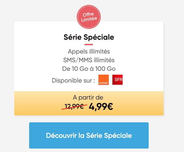 La série spéciale Prixtel encore disponible 24h