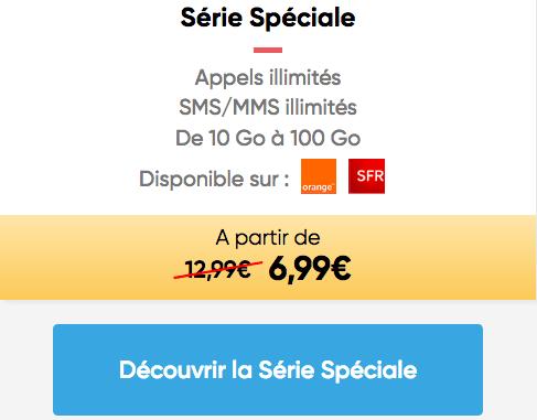 Prixtel promo forfait 4G pas cher.