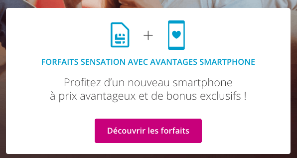 Bouygues Telecom promo iPhone XR.