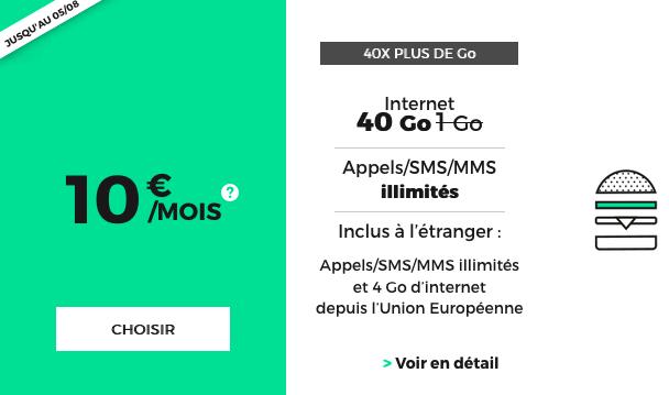 Forfait mobile pas cher à saisir chez RED by SFR.