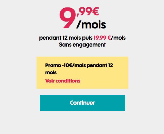 Forfait mobile riche en data en promo chez Sosh.