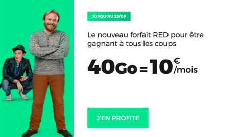 Forfait RED 40 GO