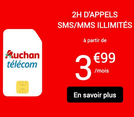 La promotion rentrée d'Auchan.
