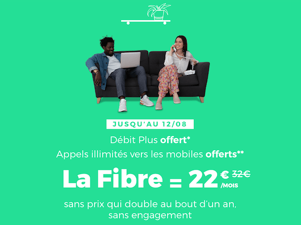 La box internet fibre optique de RED by SFR en promo