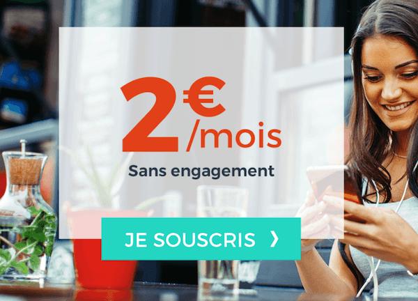 Le forfait à 2€/mois proposé par Cdiscount Mobile