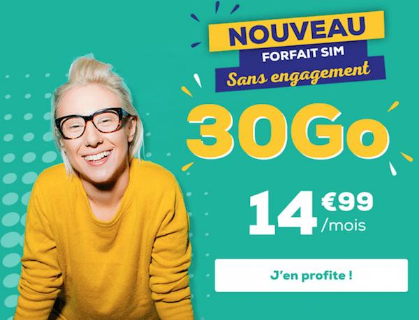 Le forfait 4G La Poste Mobile proposé à seulement 15€/mois