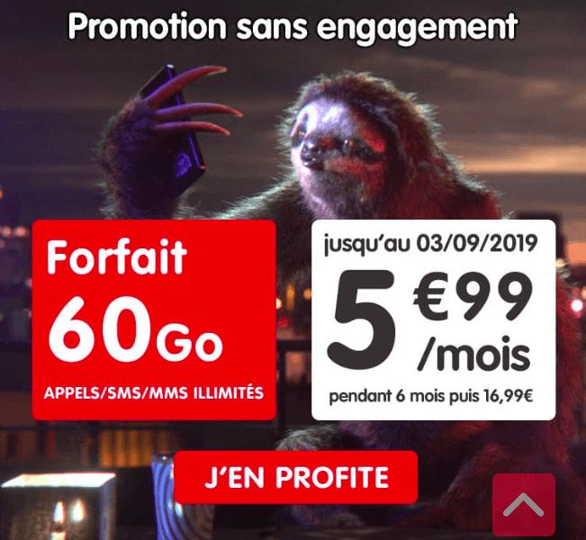 le forfait nrj mobile en promo
