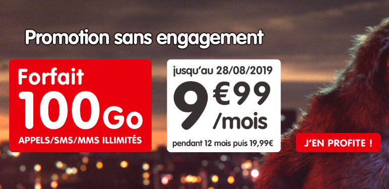 La promotion NRJ Mobile.
