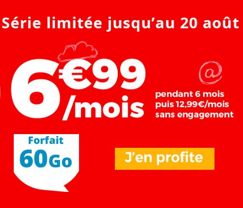 La promotion Auchan Telecom.