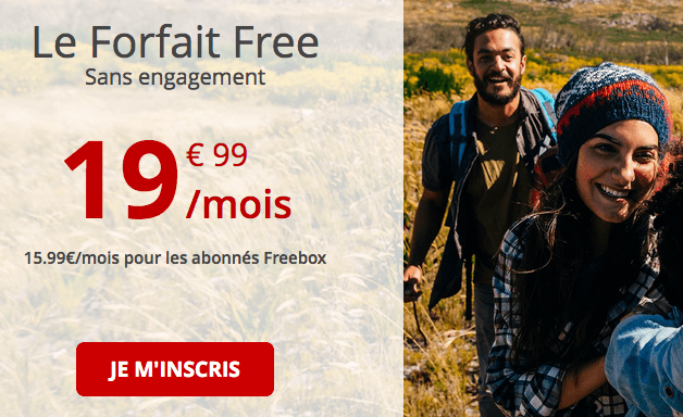 Forfait Free pour accompagner le Note10.