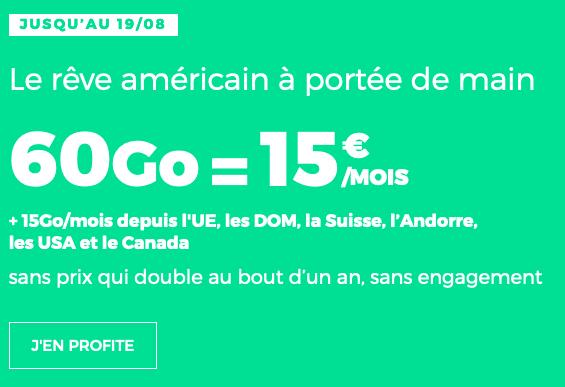 L'Amérique n'est plus un rêve avec le forfait pas cher de RED by SFR