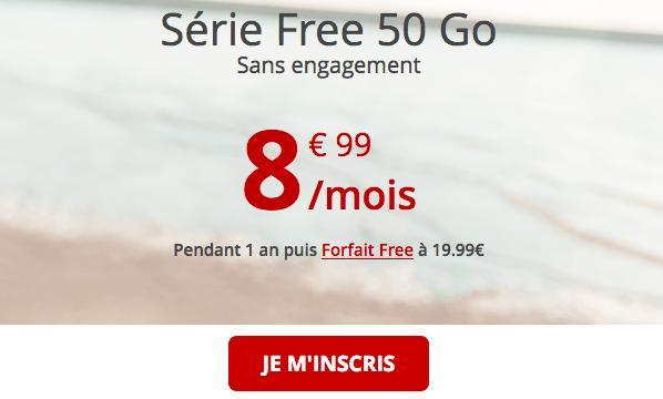 Forfait 4G en promotion à saisir.
