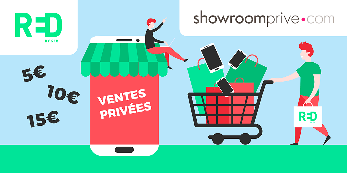 Les ventes privées RED by SFR : box internet et forfaits