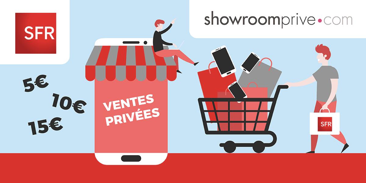 Bons plans SFR sur Showroomprivé.