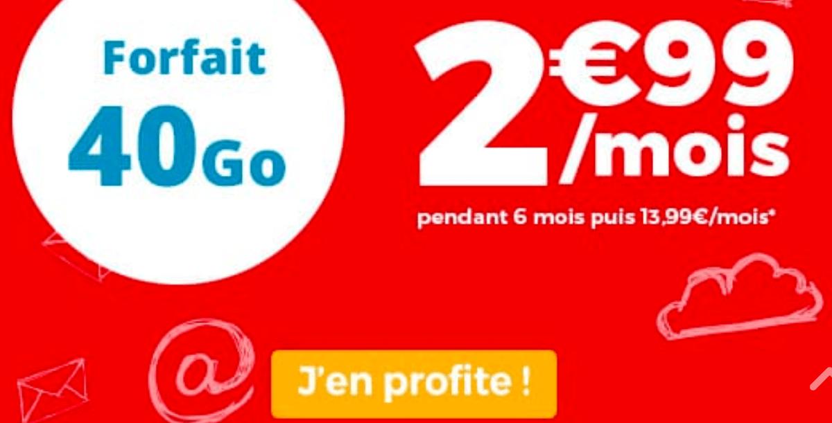 Le forfait en promo d'Auchan Telecom