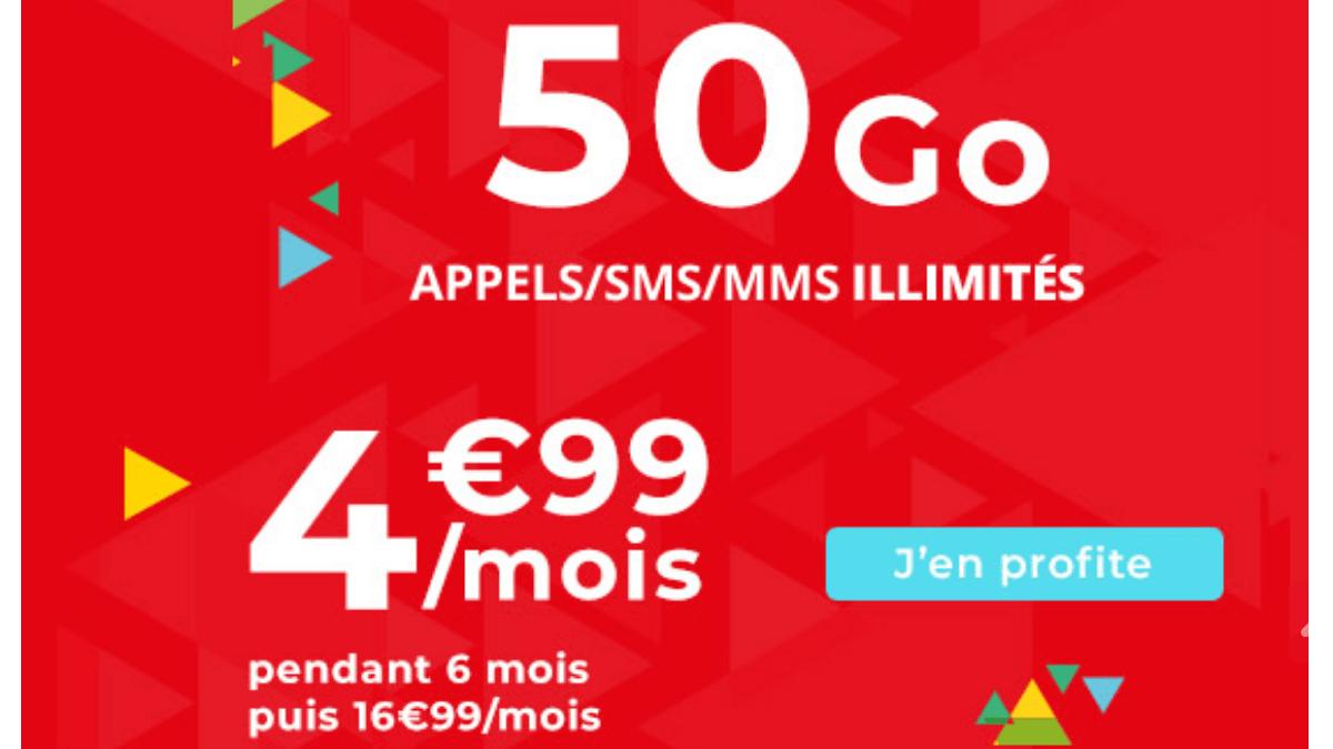 Nouvelle promotion Auchan Telecom.