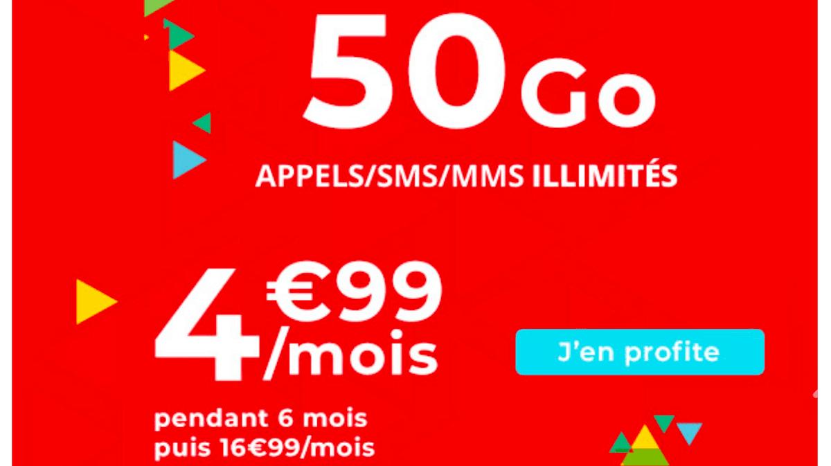 Dernier jour pour le forfait en promo d'Auchan Telecom