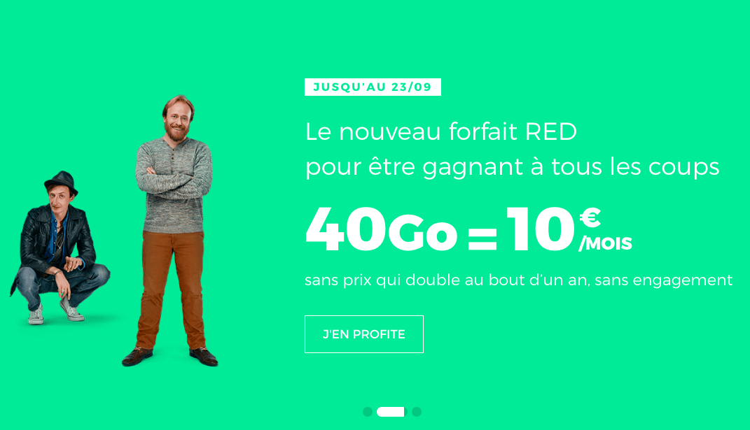 Le forfait RED 40 Go