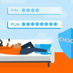 Code PUK perdu : que faire ?