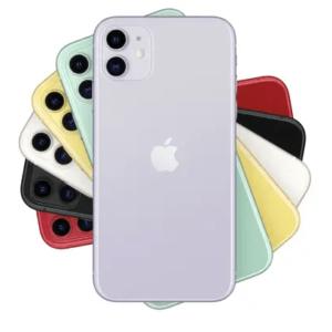 iPhone 11 face arrière.