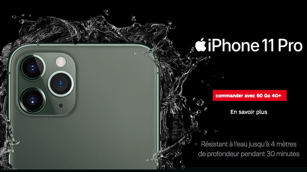Promo iPhone 11 SFR.