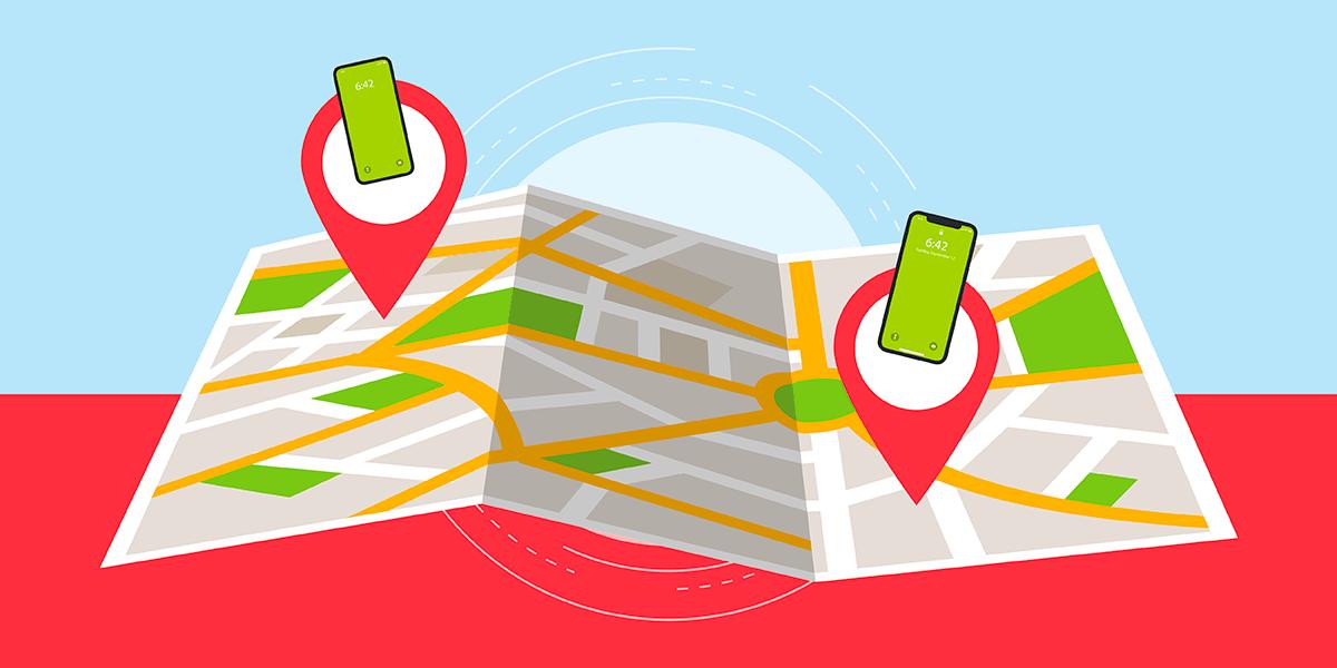 Localisation d'un téléphone