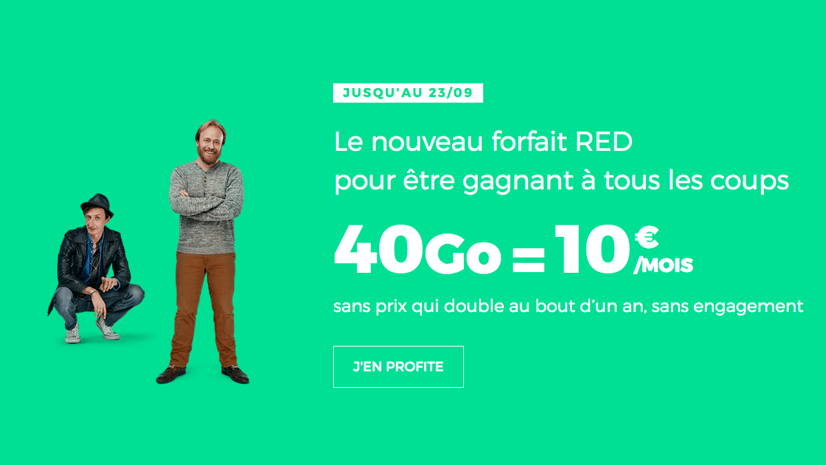 Acheter l'iPhone 11 chez RED by SFR.