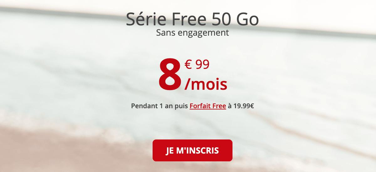 Free promo forfait 4G