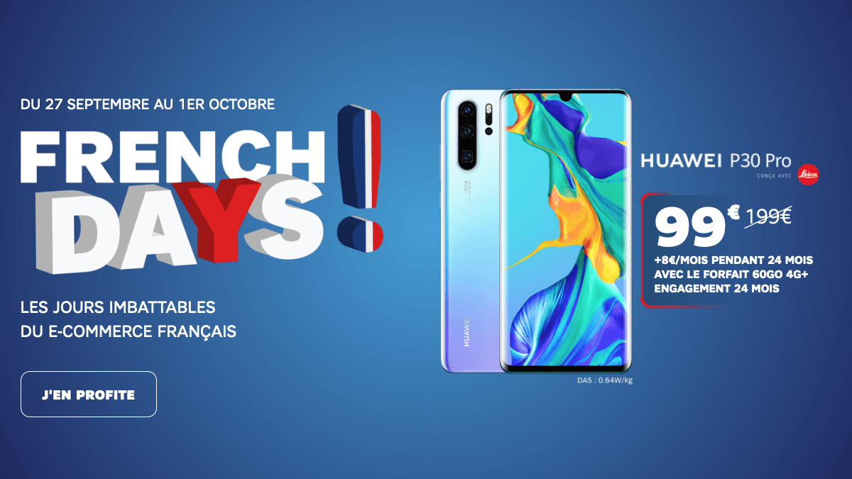 SFR French Days promotion