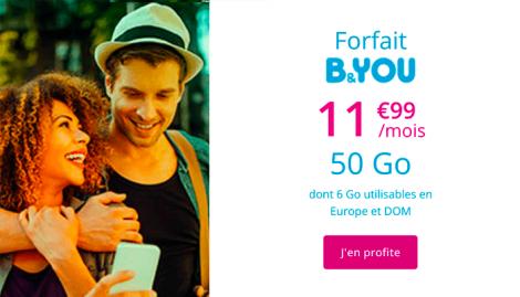 B&YOU 50 Go