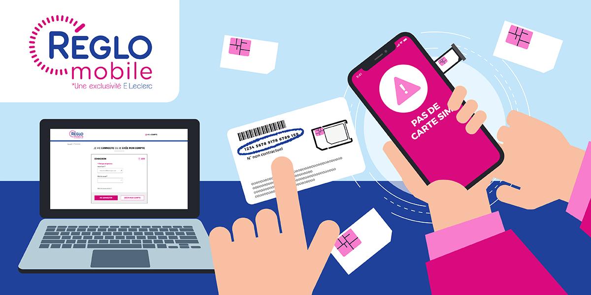 Comment activer carte SIM Réglo Mobile ?