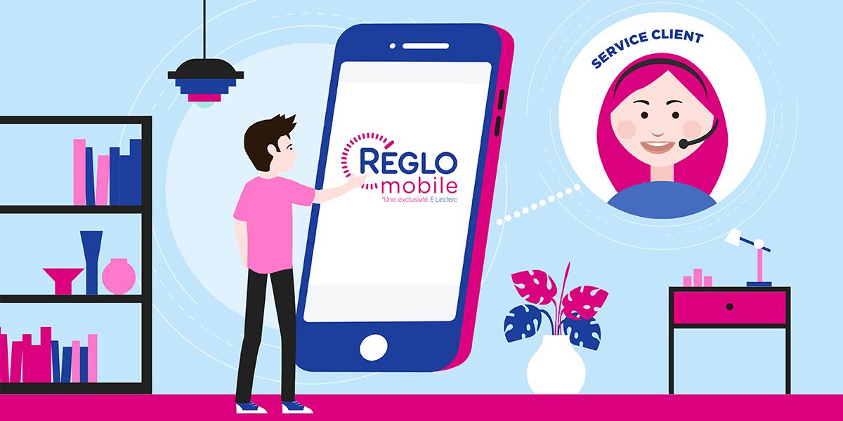 service client réglo mobile