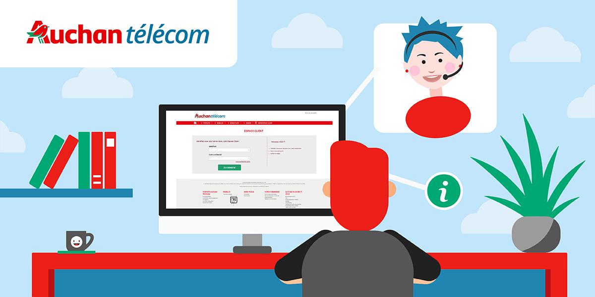 Espace Client Auchan Telecom