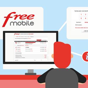 Se connecter à l'espace client Free mobile.
