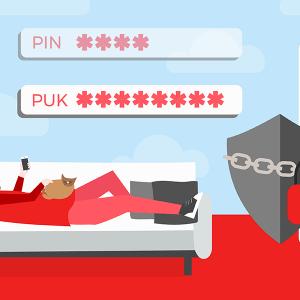 Code PUK carte SIM NRJ Mobile.