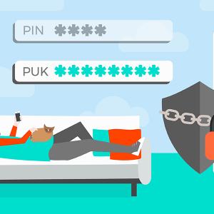 Retrouver le code PUK Cdiscount Mobile.