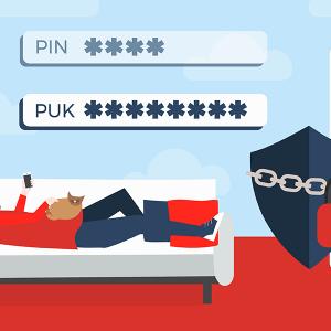Obtenir son code PUK free mobile.