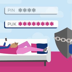 Retrouer le code PUK de sa carte SIM Réglo.
