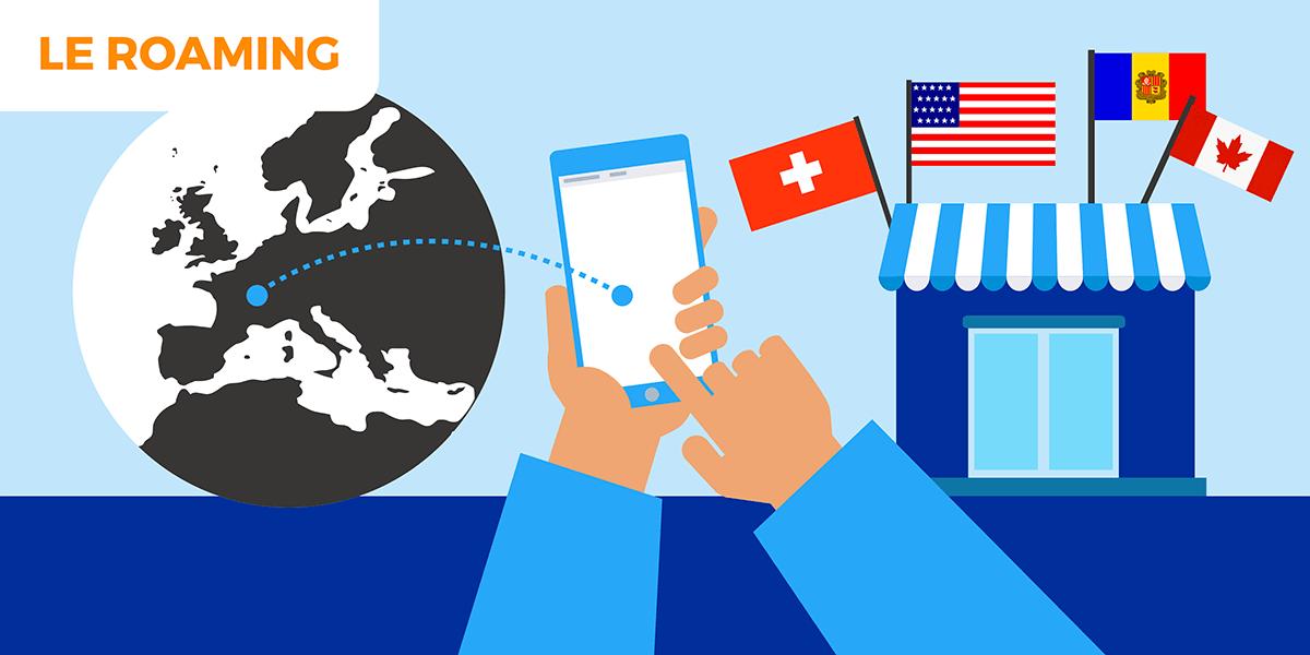 Tout savoir sur l'itinérance des données mobiles hors de l'Union européenne.