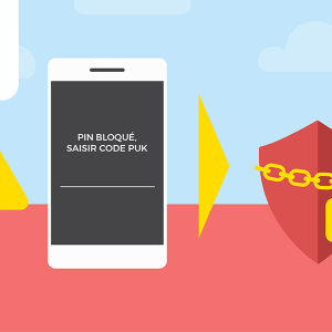Code PUK Prixtel précautions d'utilisation.