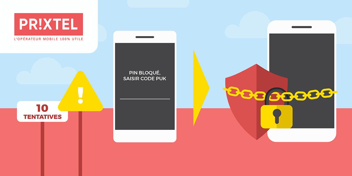 Code PUK Prixtel précautions d'utilisation