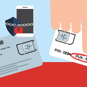 Code PUK support carte SIM Free.
