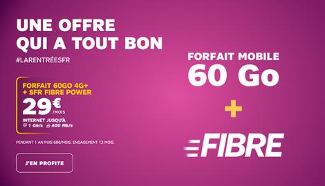 Forfait SFR + Box Fibre